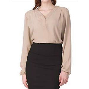NWT Regna X Women's Long Sleeve Blouse